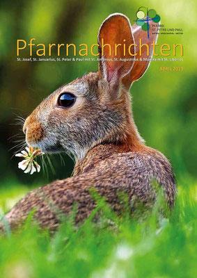 Titelseite der Pfarrnachrichten April 2019