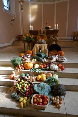 Feldfrüchte zum Erntedankfest