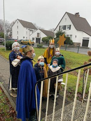 Bevor der Pfarrer an die Tür kommt