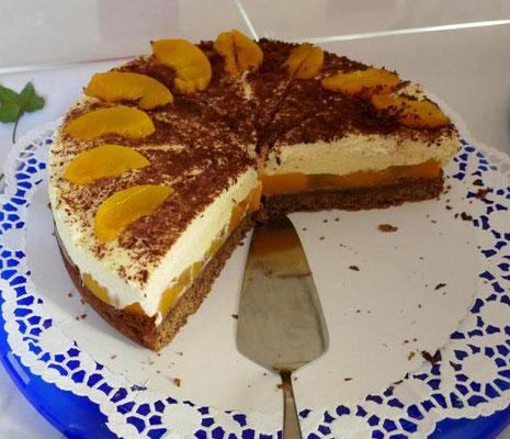 Eine leckere Kuchenspende