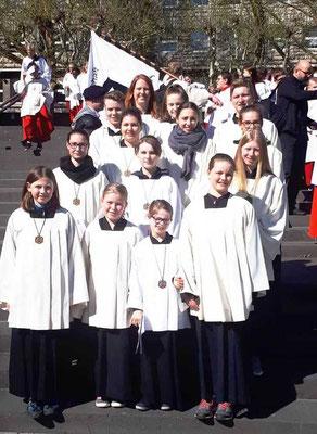 Ministranten aus St. Josef, Foto C. Schneider