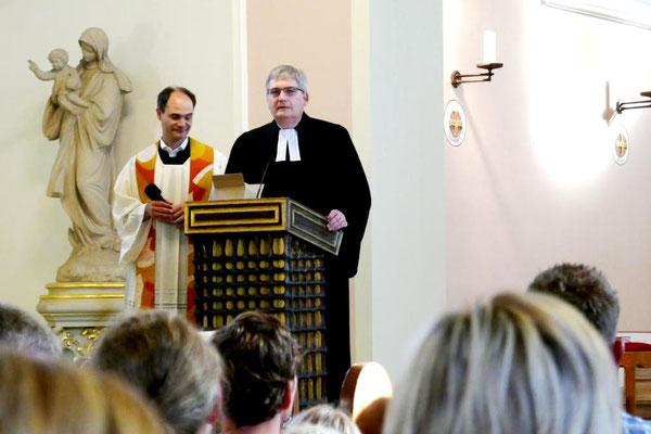 Pfarrer Holger Schmitz und Pfarrer Thomas Bracht (v.l.)