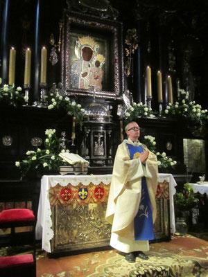 Hl. Messe während der Pilgerreise nach Polen 2012