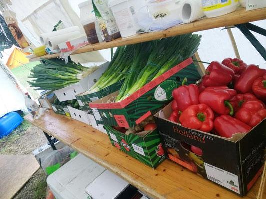 Täglich werden riesige Mengen Lebensmittel verarbeitet