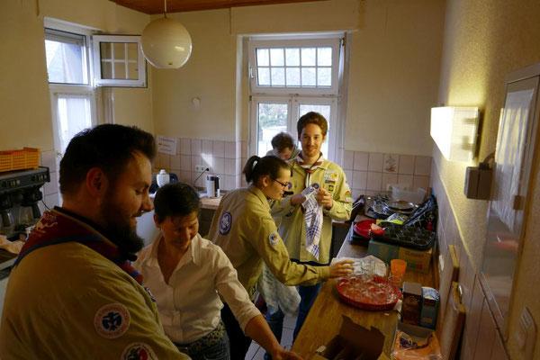 Die helfenden Hände: Unsere Pfadfinder von St. Josef