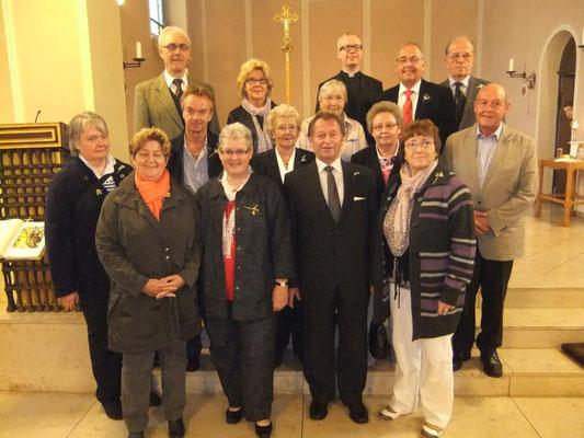 Gastgeber bei der Goldkommunion 2012