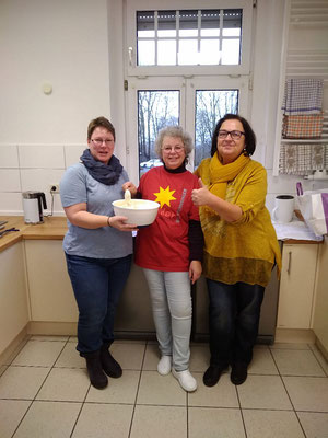 Das Küchenteam: Katja Lucht, Cornelia Gräbe, Sabine Rost