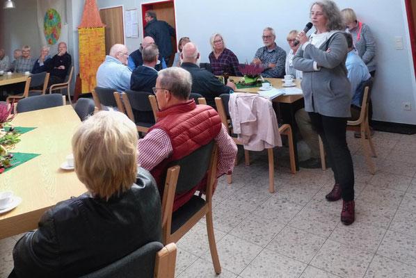 Infos von Gemeinderatsvorsitzender M.M. Seidel