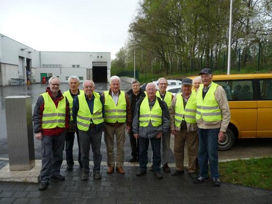 2014 beim Besuch der AHG-Vergärungsanlage in Witten