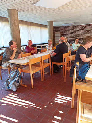 In der Cafeteria in Neviges am 25.09.2021