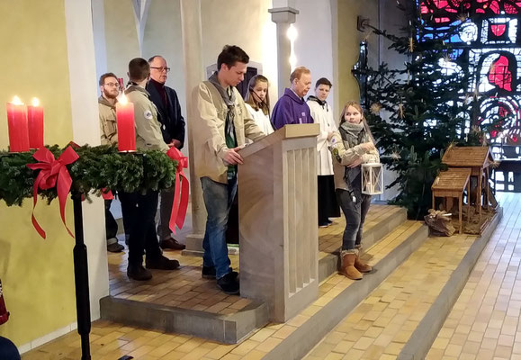 Familienmesse am 4. Advent