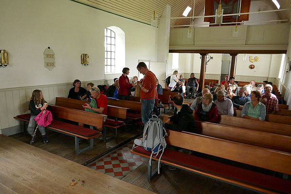 2018: Fußpilgergruppe St. Januarius und St. Josef zum Gebet in der Windrather Kapelle