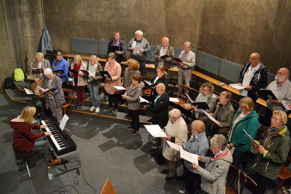 Blick auf den Kirchenchor