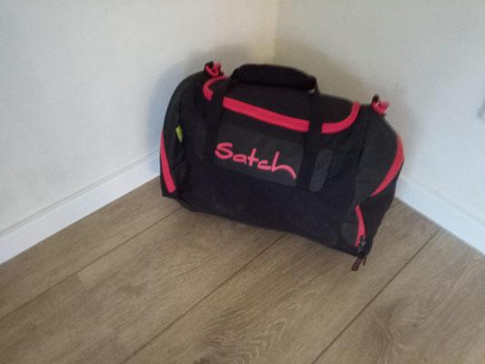Tasche fürs Pfingstlager ist gepackt