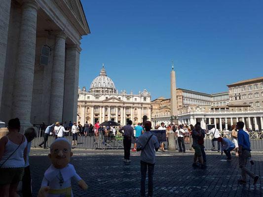 Blick auf den Petersdoem