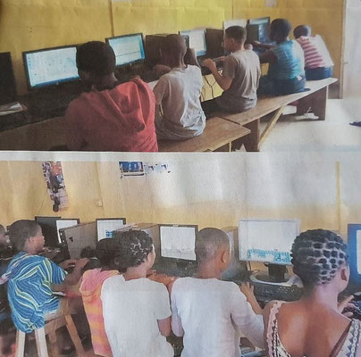 Computerschule in Ogwu Nguru