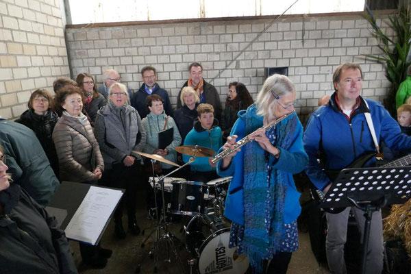 Sänger und Musiker der Gruppe ...