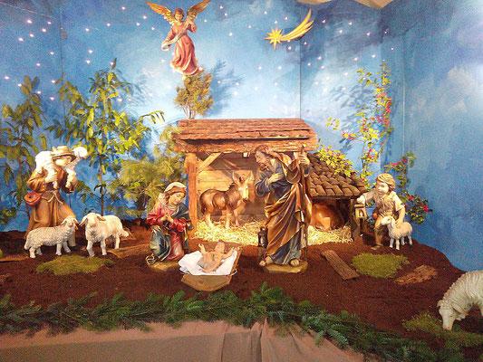 Weihnachtskrippe in St. Josef