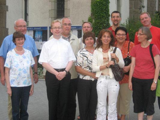 Vorstellung am 30.06.2009 beim damaligen Gemeinderat St. Josef