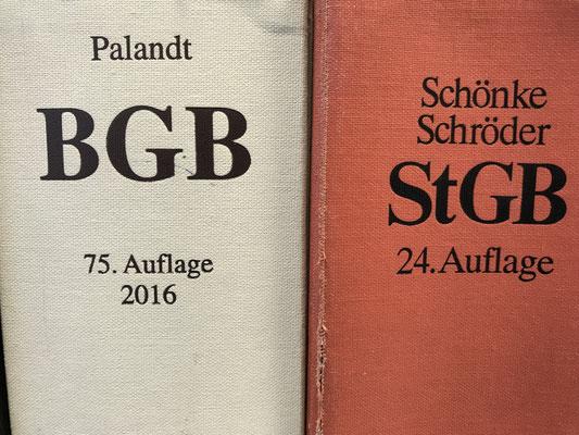 LEDERER_training | Literatur zum Bestehen der IHK-Sachkunde nach § 34a GewO - das BGB und das StGB | Copyright: Jan Lederer