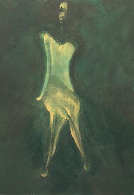 """""""Imaginaire 2019-15"""", acrylique sur toile, 73 x 54  20 P"""