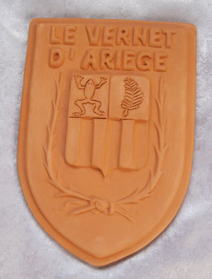 Blason Le Vernet d'Ariège