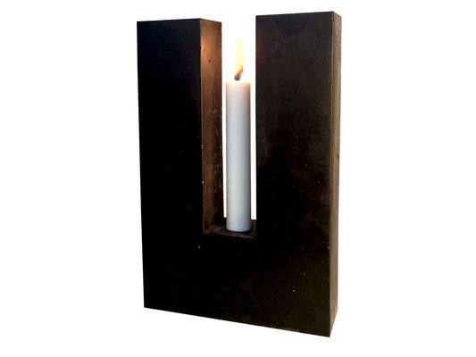 TWIN 1 - Kerzenleuchter - 30 x 19 x 7 cm - € 139,-