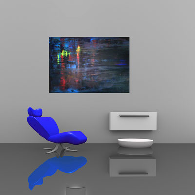 ENGEL - Acrylbild auf Leinwand - 100 x 70 cm - € 350,-