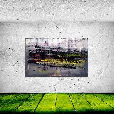GENESIS 3 - Acrylbild auf Leinwand - 200 x 120 cm - € 1.650,-