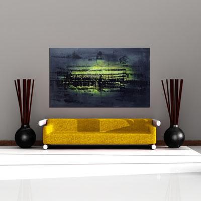 GENESIS 2 - Acrylbild auf Leinwand - 200 x 120 cm - € 1.650,-