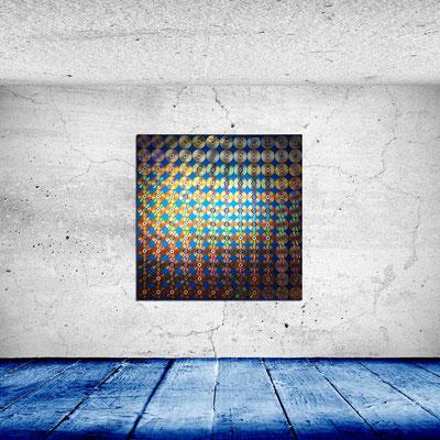 TERRABITE - Acrylbild auf Leinwand - 146 x 146 cm - € 370,-