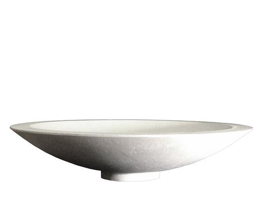 IKARUS weiß - Betonschale - 47 x 12 cm - € 299,-
