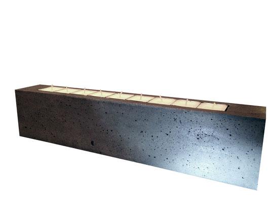 QUADER - Kerzenleuchter - 45 x 7 x 10 cm - € 129,-