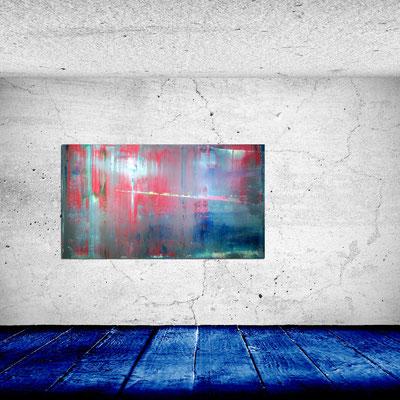 DER WEG - Acrylbild auf Leinwand - 140 x 80 cm - verkauft -