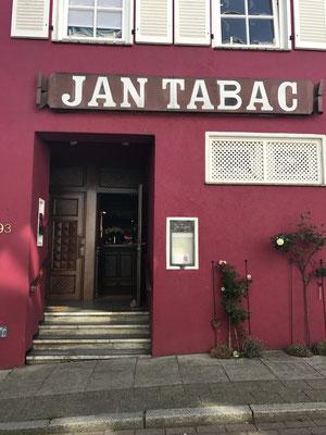 Das Restaurant Jan Tabac in Vegesack offeriert seinen Gästen gerne meine Weine von Capewinebestwine.