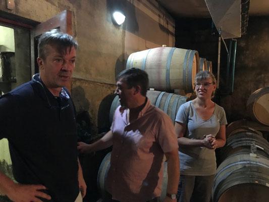 Im Weinkeller bei Mellasat