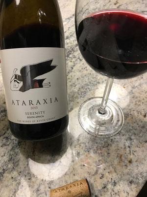 Ataraxia Flasche und Glas