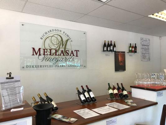 Der Tasting Room von Mellasat