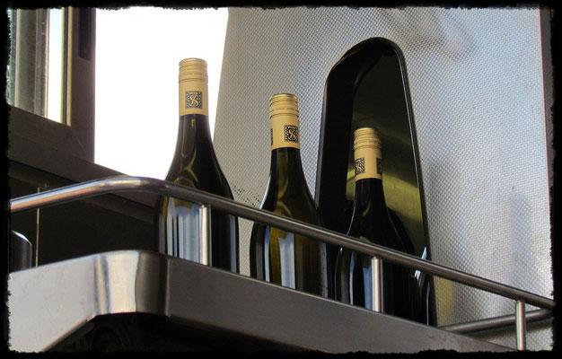 Hier wird der Wein abgefüllt