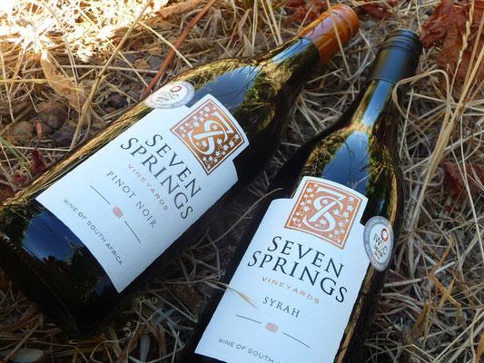 Seven Springs das sind Weine von Tim Pearson