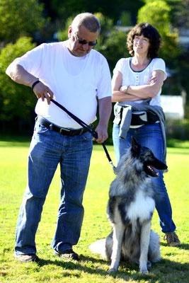 Michael und Antje mit Crawallo