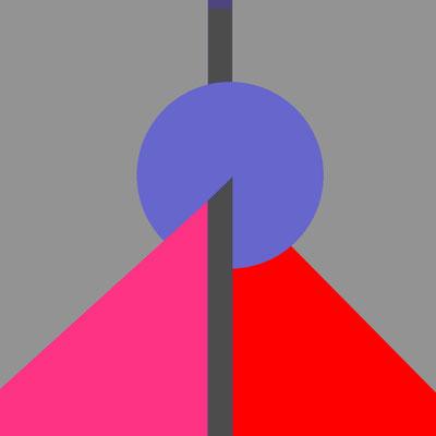Acryl auf Canvas, 60 x 60 cm