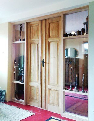 Tür mit Trenwand