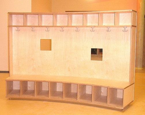 Garderobe Kindergarten