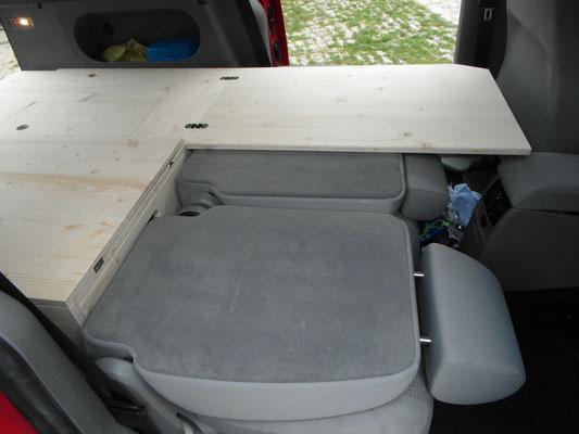 Bett mit Stauraum VW Caddy