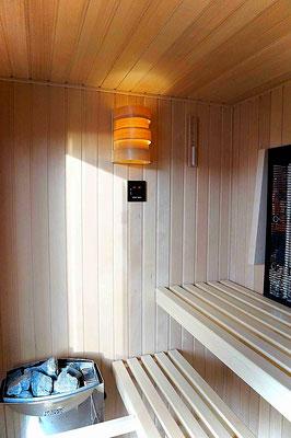 Sauna mit Physiotherm Sensocare