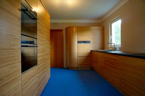 Küche Front Baubuche