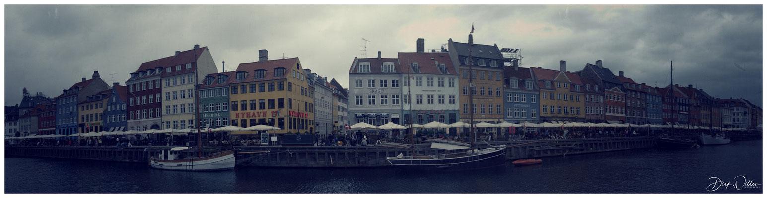 Nyhavn Panorama Copenhagen / Copenhavn