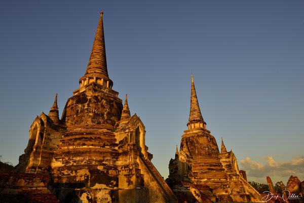 Wat Phra Si Sanphet @ Ayuthaya Historical Park [Ayuthaya/Thailand]