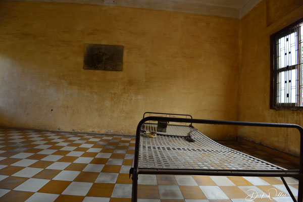 S 21 - Tuol Sleng Museum, a former prison kown as Security Prison 21 / Phnom Penh